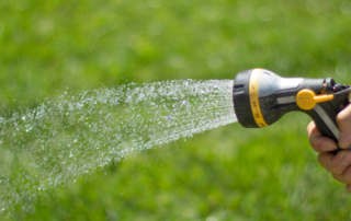 How do you water your lawn?